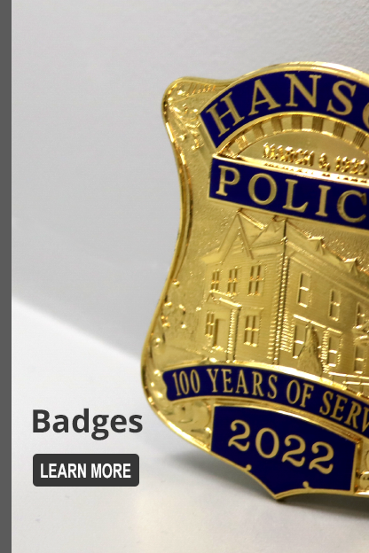 American Made Badges