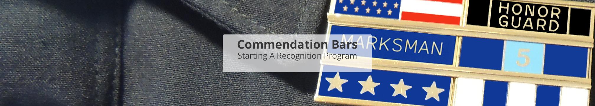 Commendation Bar