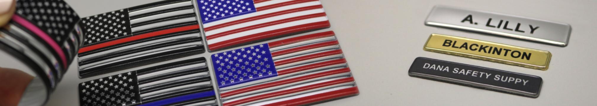 Flex Namebars Flags